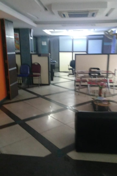 1590 Sqft Semi furnished commercial space with all facilities