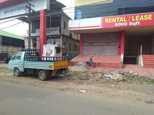 2000 sq ft Commercial space at Chalikkavattom near Malabar Illam