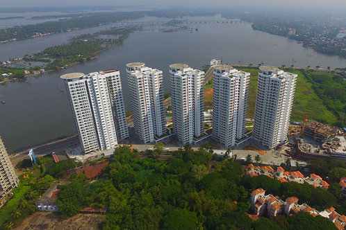 3 BHK 2450 sq ft Apartment at Marine Drive, Kochi