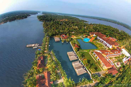 Luxury resort for sale in alappuzha