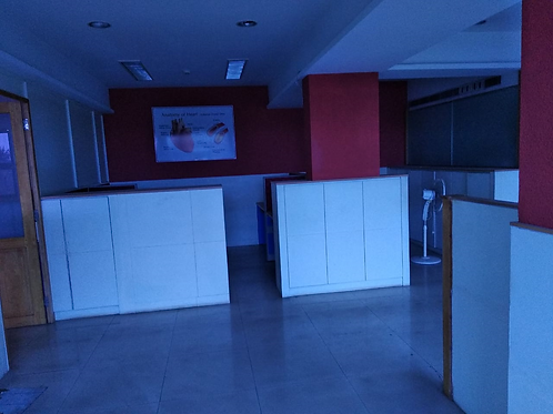 2500 sqft Commercial Space at M G Road