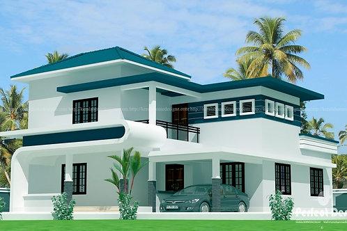 4 bhk house for sale at Chakkaraparambu