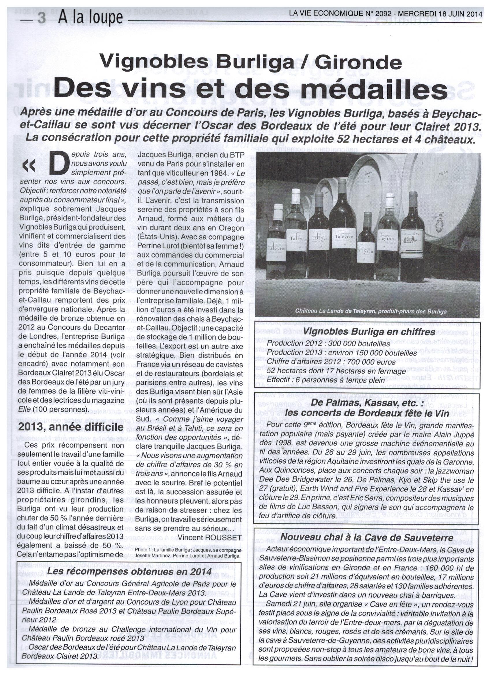 2014-06-18 La Vie Economique_Article