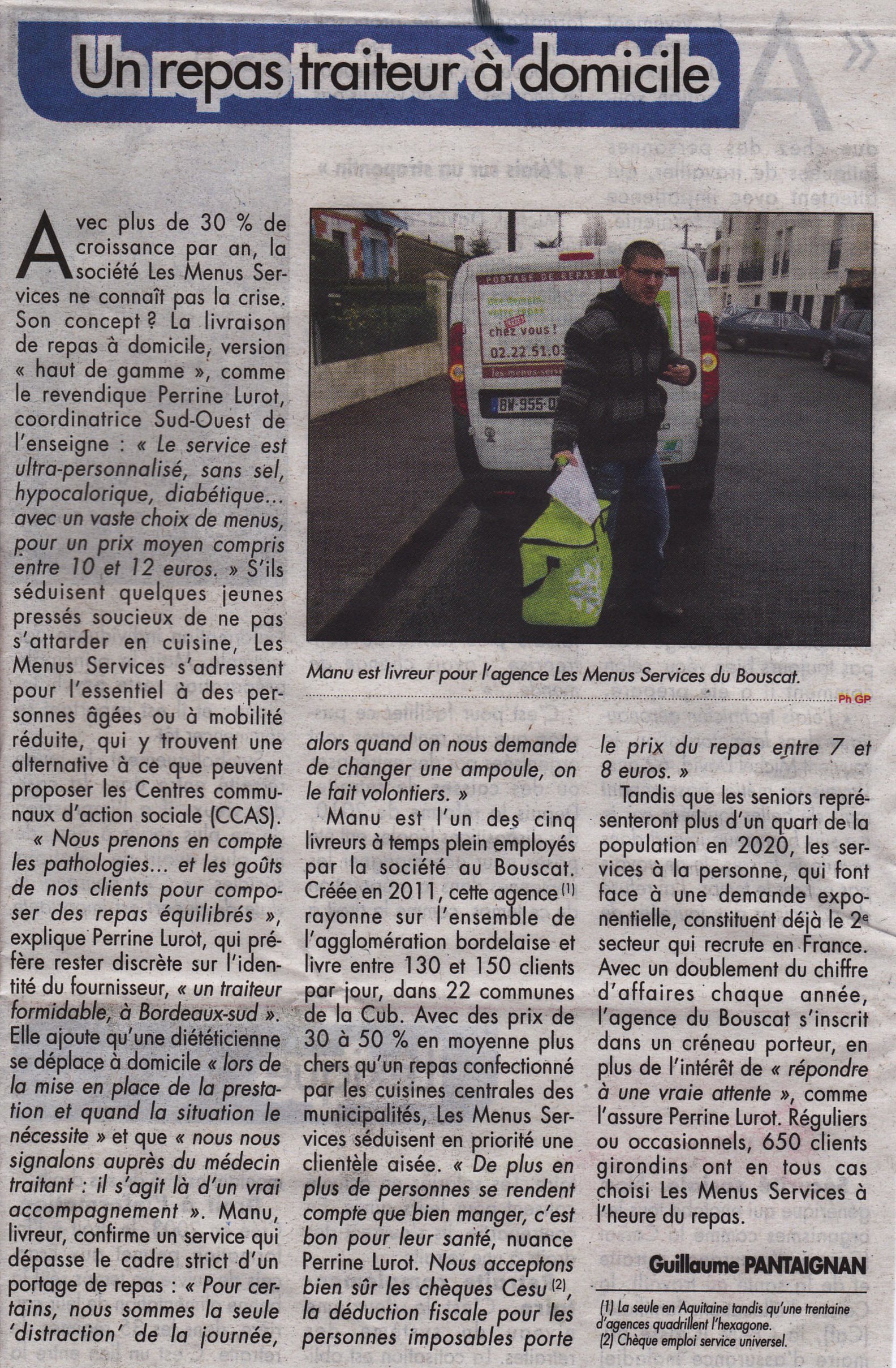 2014-03-28 Le Courrier de Gironde_Article 1