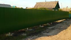 Забор монтаж
