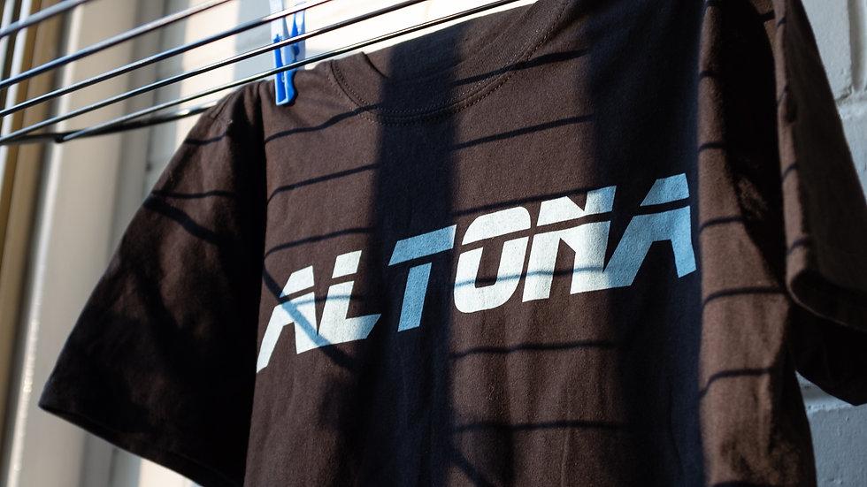 Altona Block Font Tee