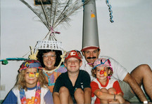 Crazy Hat Day in Indonesia