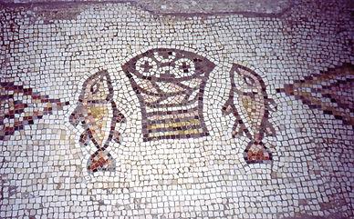 chretien mosaic israel galilee
