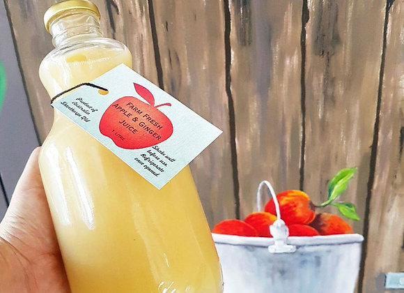 Nicoletti Orchards Apple & Ginger Juice
