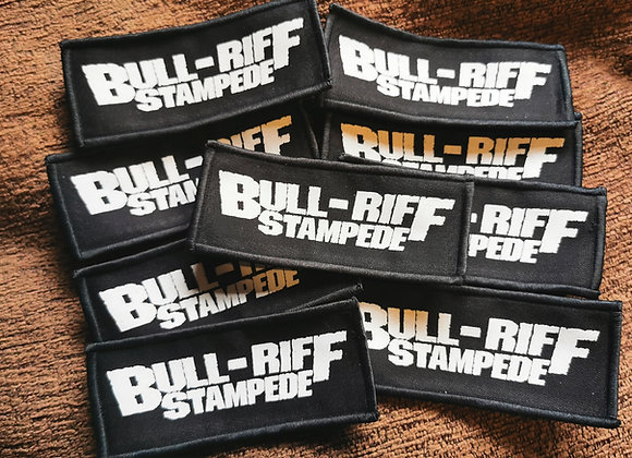 Bull-Riff Logo Patch
