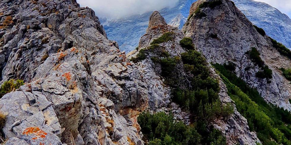 Средонос-предизвикателният ръб на Пирин