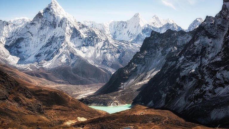 Еверест базов лагер - по пътя на мечтите