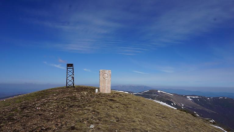 Изкачване на връх Ком