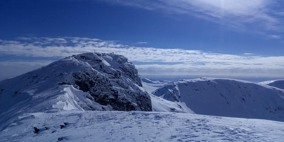Зимно изкачване на връх Мечит