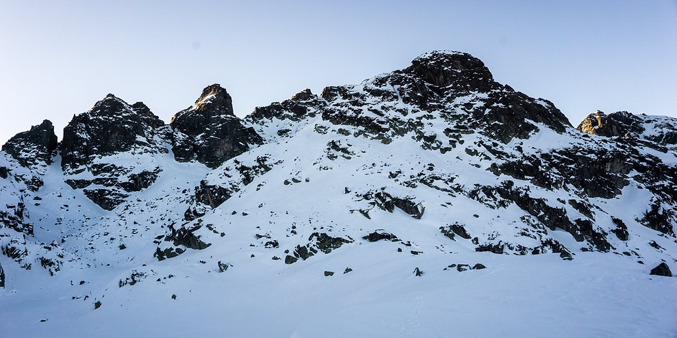 Зимно до връх Голям Купен и Страшното езеро