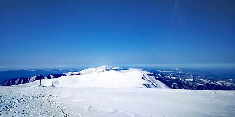 Зимно изкачване на връх Вежен