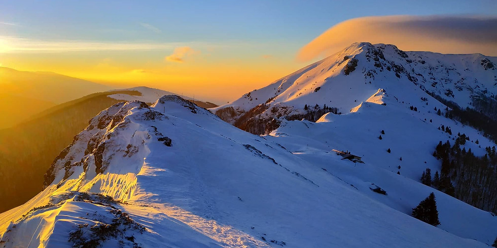 Зимно до хижа Ехо и връх Юмрука