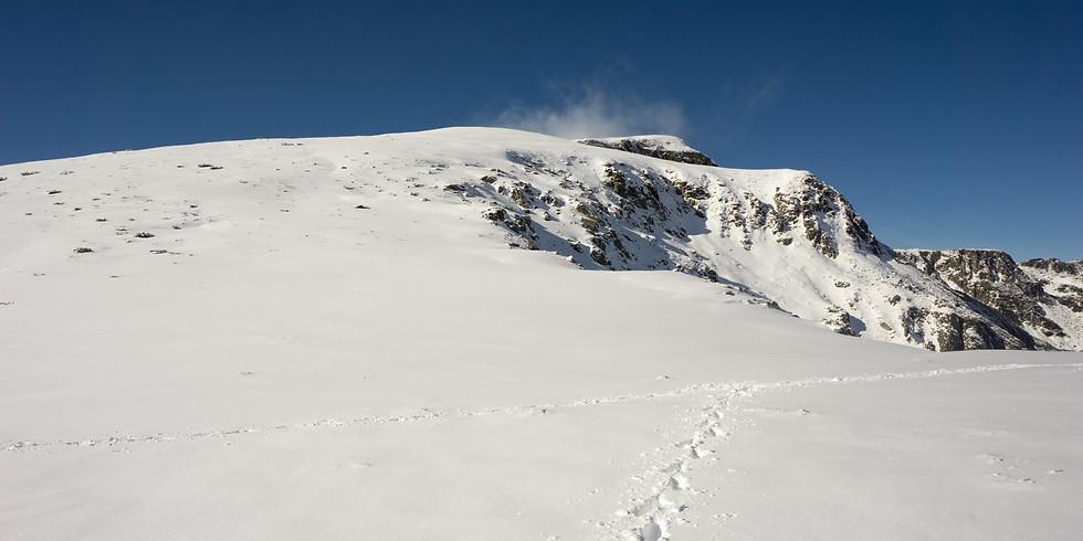 Зимно изкачване на връх Ибър