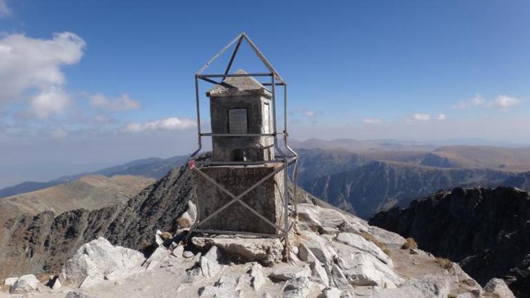 On Top of the Balkans: Musala peak, 2925 m.