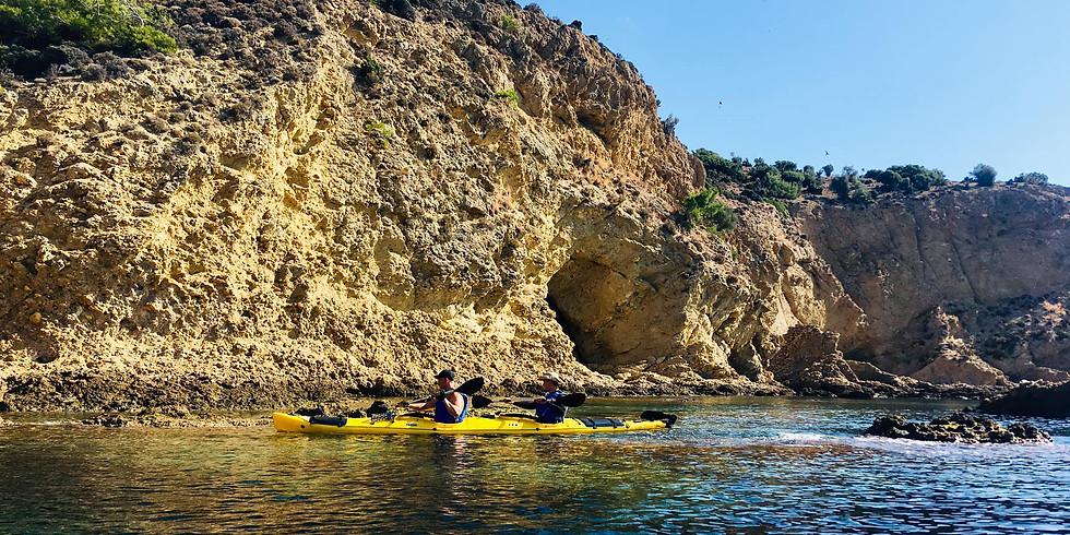 Каяк приключение на остров Тасос