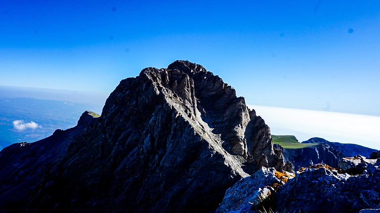 Изкачване на връх Митикас в планината Олимп