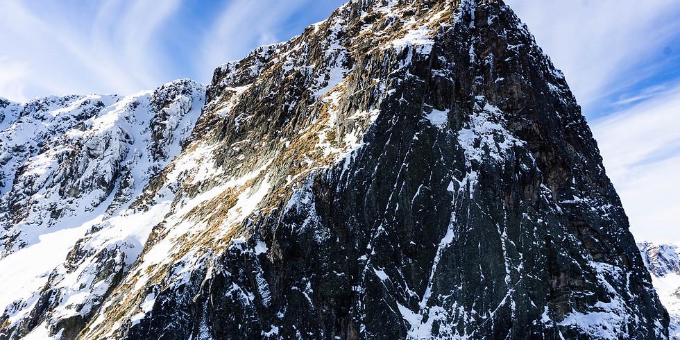 Североизточният ръб на връх Мальовица