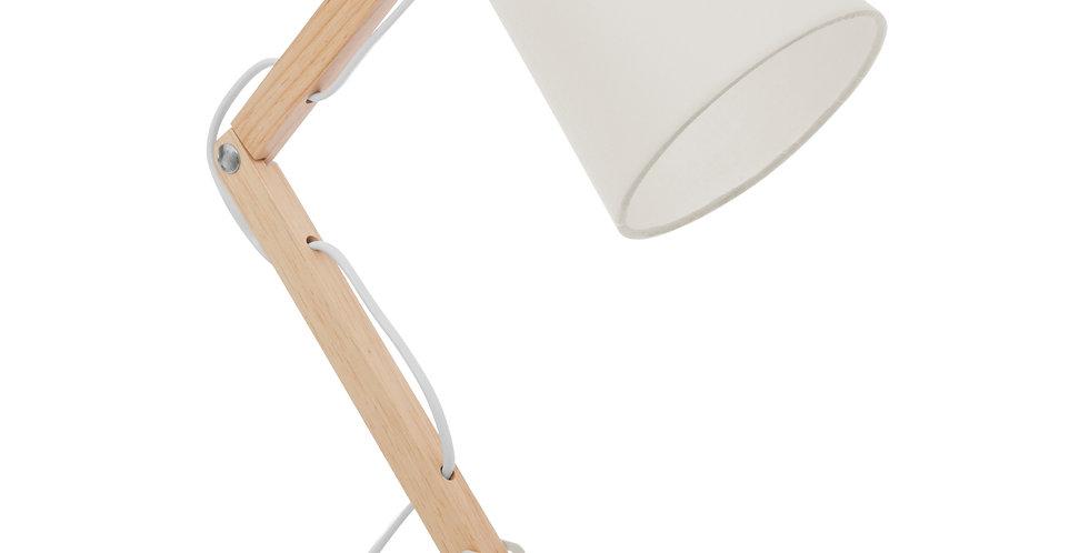 Atmosphera Bureaulamp Scharnier Wit