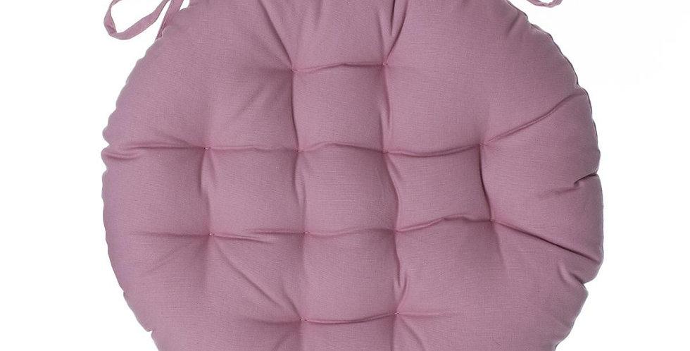 Atmosphera Stoelkussen rond 38' roze