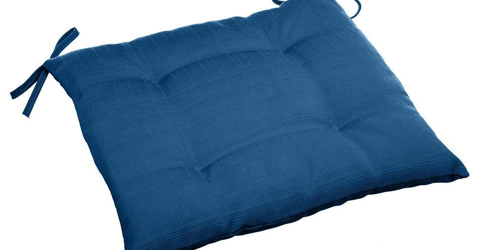 Hésperide stoelkussen Korai Cake  outdoor 40'x40' indigo blauw
