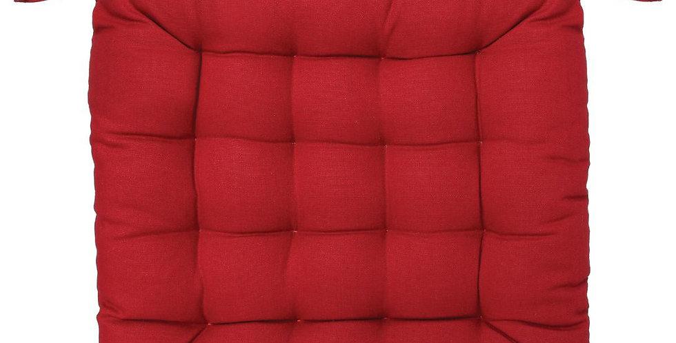 Atmosphera Stoelkussen 38'X38' rood