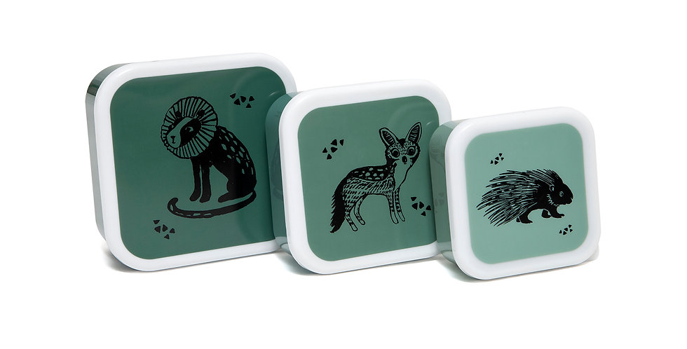 Petit Monkey Animals Lunch Box