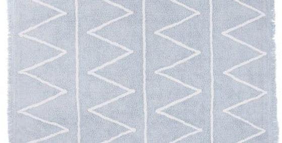 Lorena Canals Machinewasbaar tapijt Hippy Soft Blue