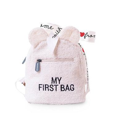 Childhome Kinderrugzak My First Bag Teddy Ecru