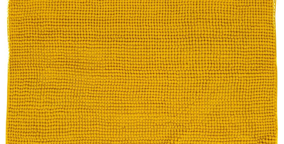 5Five Badmat Chenille geel