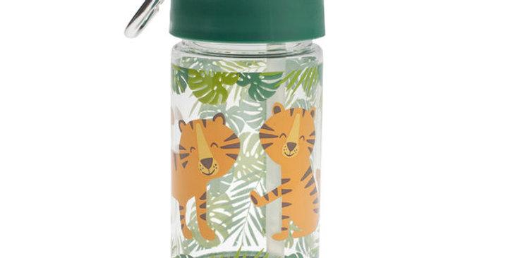 Sugarbooger Flip & Sip Tritan Drinking Bottle Tiger