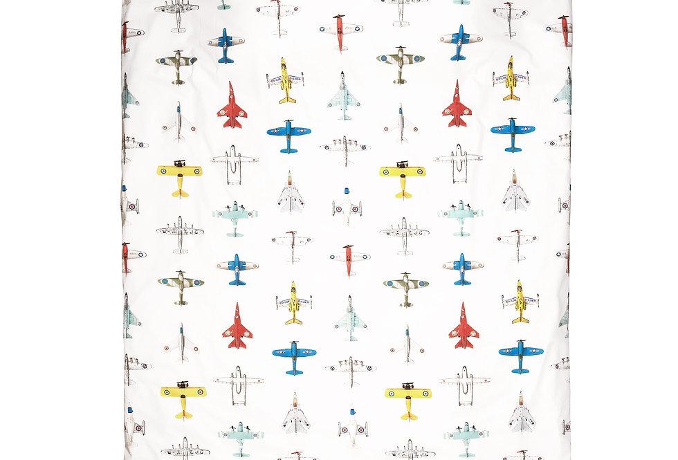 Studio Ditte Dekbedovertrek Vliegtuigjes