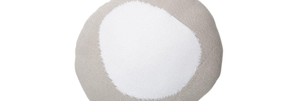 Lorena Canals Sierkussen Knitted Bonbon grey-white