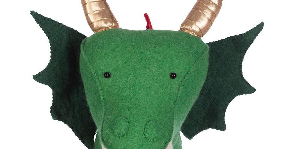 KidsDepot Dierenkop Dragon Green
