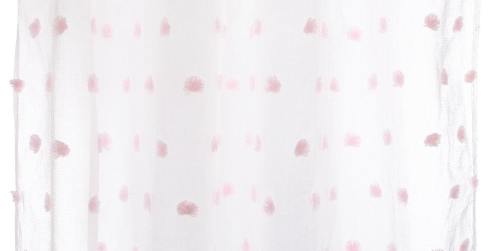 Atmosphera kids Gordijnen 140' x 240'Pom pom roze
