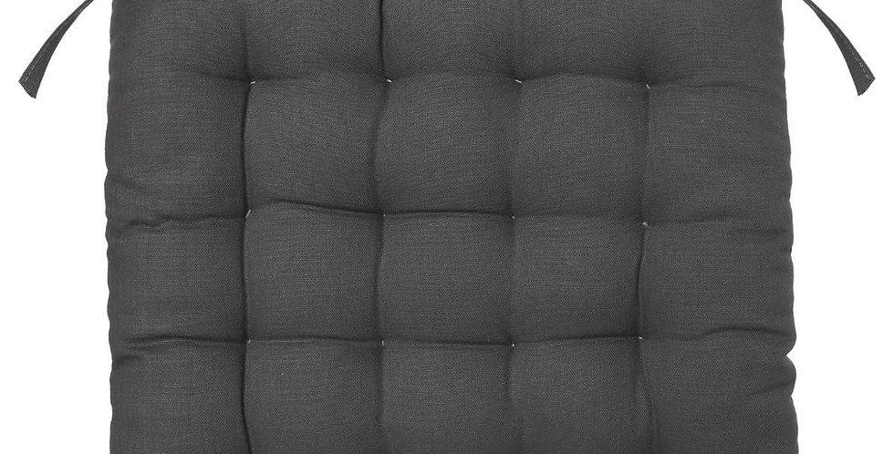Atmosphera Stoelkussen 38'X38' donker grijs