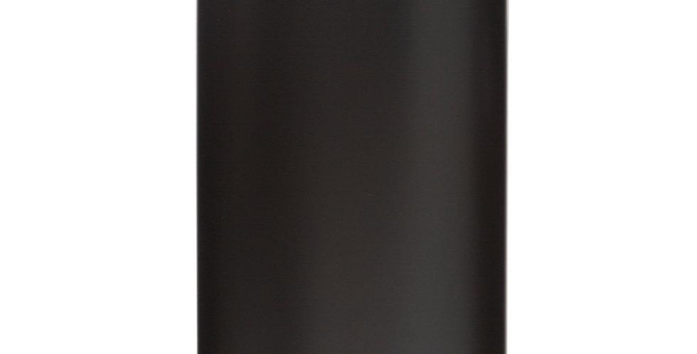 5Five Delta Vuilnisemmer Metaal Zwart