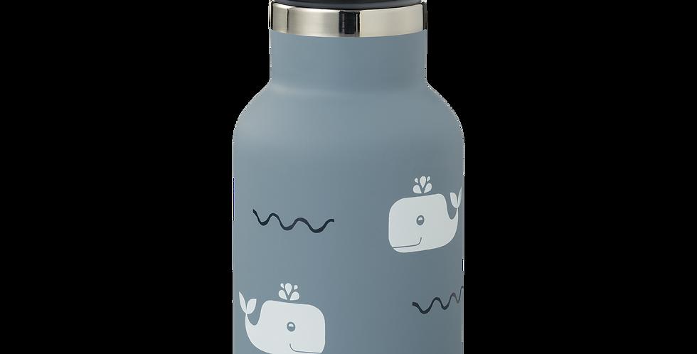 Fresk Drinkfles Thermos Whale blue fog