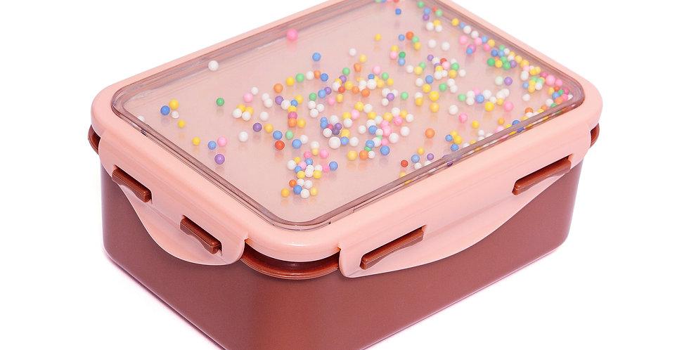 Petit Monkey lunch box popsicles desert rose + soft coral