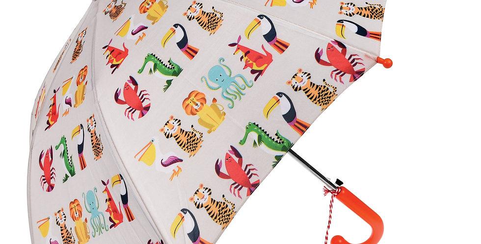 Rex London Paraplu Colorful Creatures