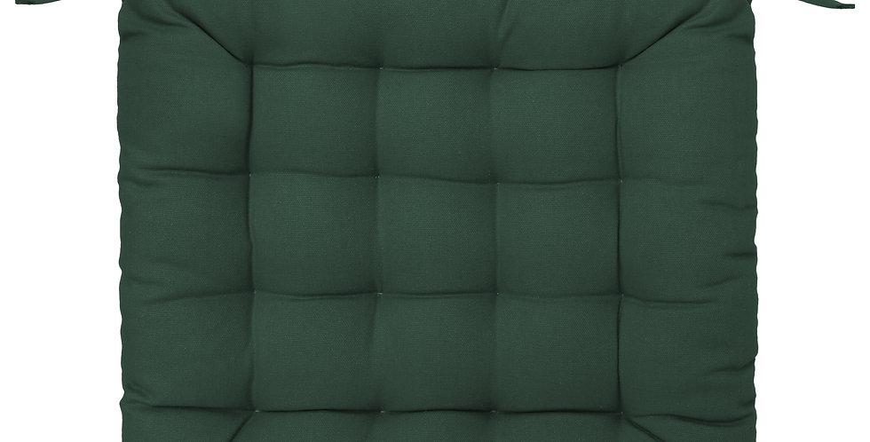 Atmosphera Stoelkussen 38'X38' groen