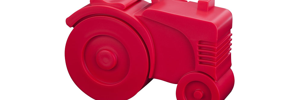 Blafre Lunchbox Tractor Rood