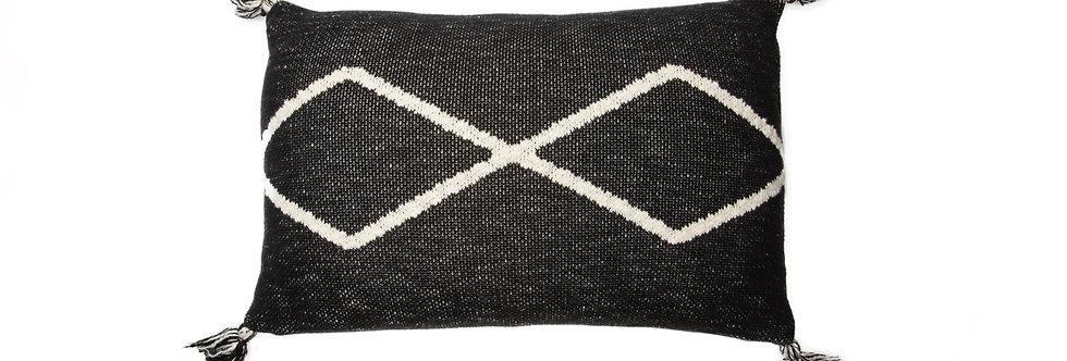 Lorena Canals Sierkussen Knitted Oasis Black