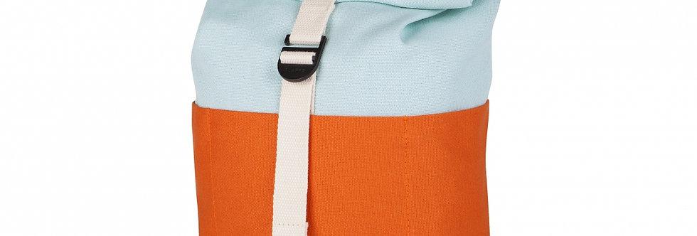 Blafre - Peuter Rugzak Roll Top orange+light blue 7 liter