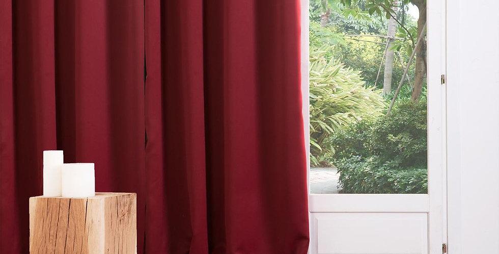 Atmosphera Occ verduisterende gordijnen 2 stuks van 135' x 240' rood