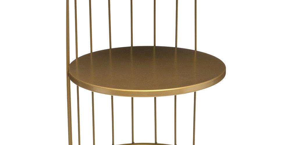 Atmosphera Bijzettafel Kobu Design Goud